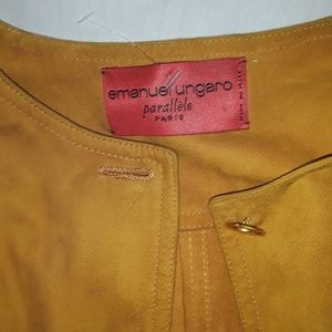 Emanuel Ungaro Tops - 70s RARE VINTAGE made in Paris By Emanuel Ungaro